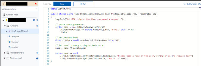 Manipulating Data with Azure Function Apps | Rob's D365 Blog